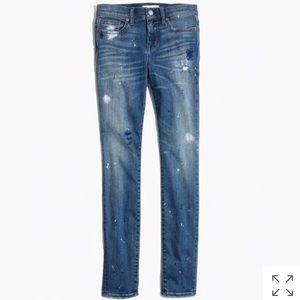 Madewell: Skinny Skinny Jeans Painter Edition